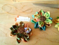 Flower Brooch - 3""