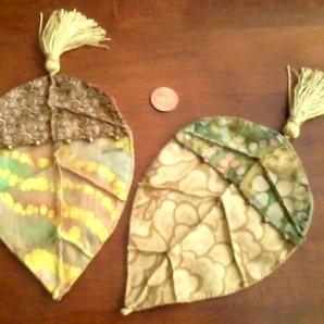 Beech Leaf Pouch