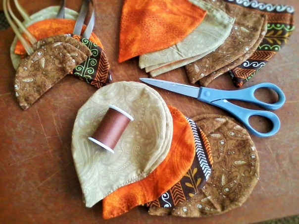 Autumn Beech Leaf Gift Pouch