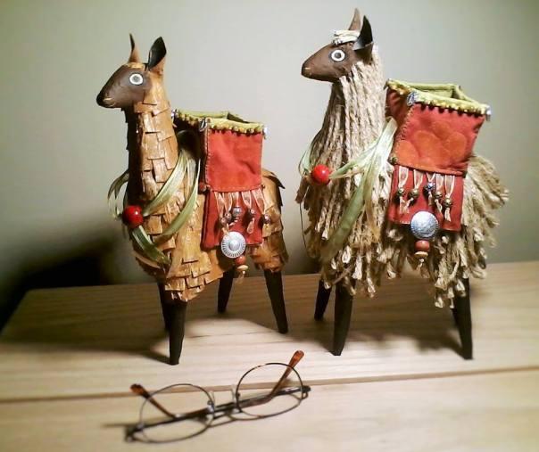 Paper Mache Llama