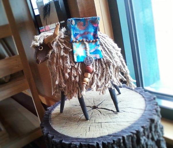 artists mediums art shop paper mache animal