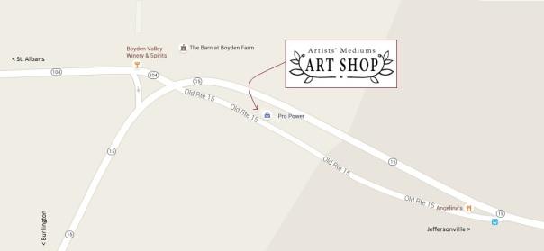 artists mediums art shop